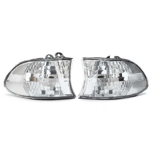 For 99-01 BMW E38 7-SERIES Corner Lights Side Light - Clear Lens 740i 740iL 750iL