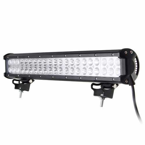 20Inch 126W 42LED Spot Flood Beam Combo Work Driving Light Bar For Jeep SUV ATV