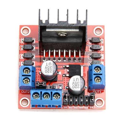 10 Pcs Geekcreit L298N Dual H Bridge Stepper Motor Driver Board
