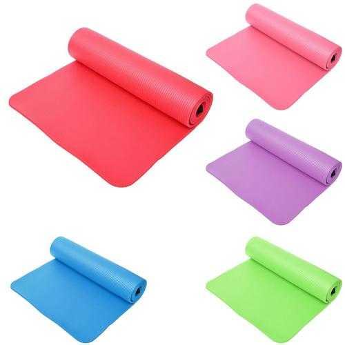 5 Colors Non Slip Folding Yoga Exercise Mat Pilates Gym Fitness Pad