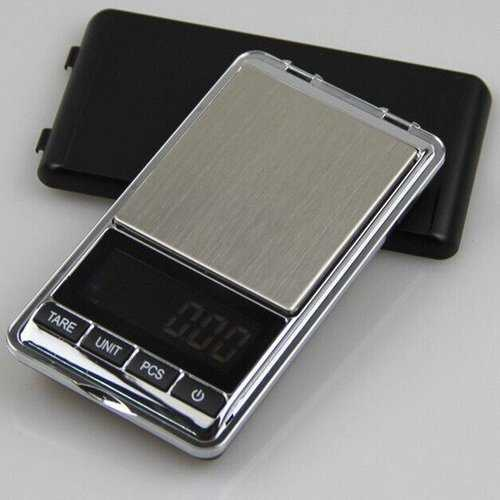 1000/0.1g Stainless Steel Digital Pocket Scale