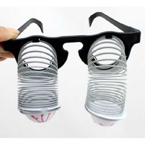 Droopy Eyeglasses Halloween Costume Party Joke Toys Horrible Funny Toys