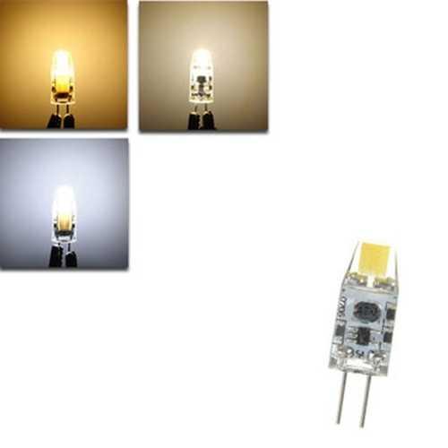 G4 1.2W LED Bulb 120Lm COB Pure White Warm White Natural White Light Lamp Bulb DC12V