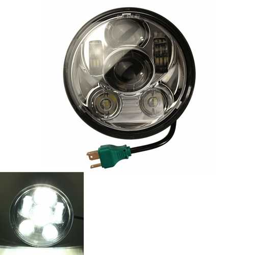 5.63 inch LED Hi/Lo Beam Headlight Lamp For Harley 12V-30V 30W/45W 2800LM /4000LM IP65