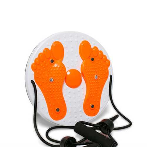 Fitness Wriggling Plate Massage Magnet Twister Plate With Pull Cord Massage Board Exercise Equipment