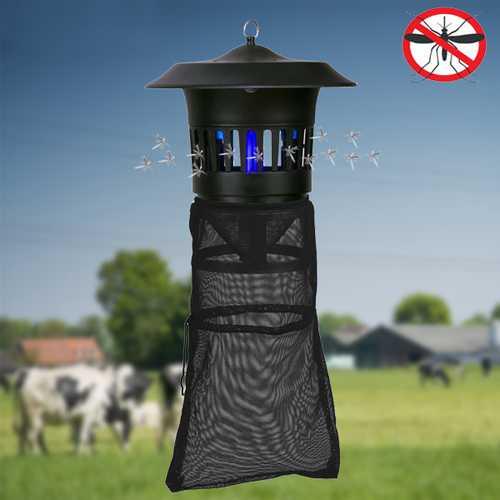 GREENYELLOW 220V 15W Electric Mosquito Killer Light for Garden Farm Anti-mosquito Repeller