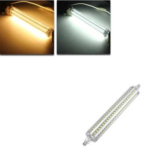 Dimmable R7S 189mm 13W 144 SMD 2835 LED Warm White Pure White Light Lamp Bulb AC85-265V