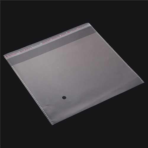 200PCS 200×200mm Transparent Plastic Bags Debris Bag