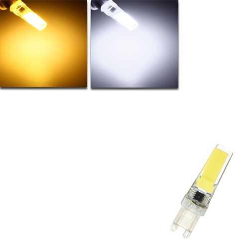 Dimmable G9 LED 3W Pure White Warm White COB LED Light Lamp Bulb AC220V