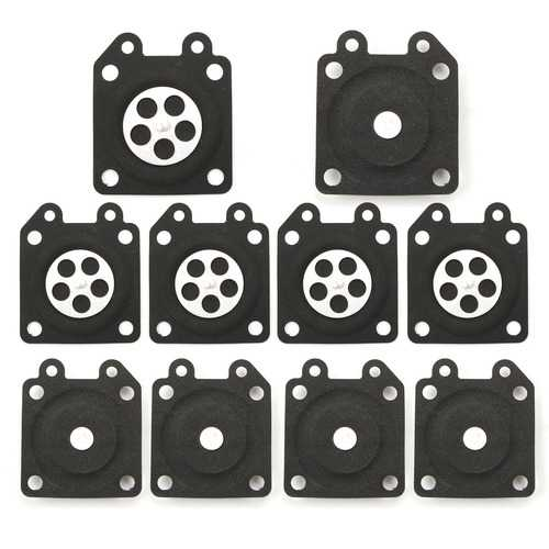 10pcs Carburetor Gaskets Metering Diaphragm Assembly For Walbro 95-526
