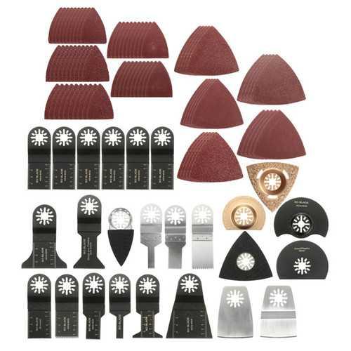 100pcs Mix Oscillating Multitool Saw blade for FEIN BOSCH Dremel Makita Oscillating Tools