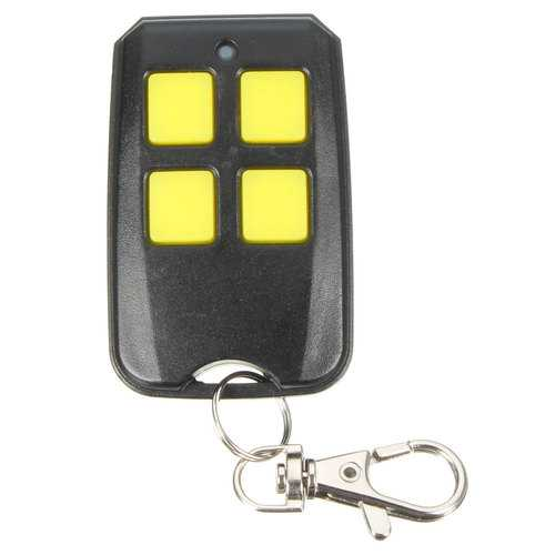 4 Button 433.92MHz Garage Gate Key Remote Control For Seip SKR433-1 SKRJ433 TM