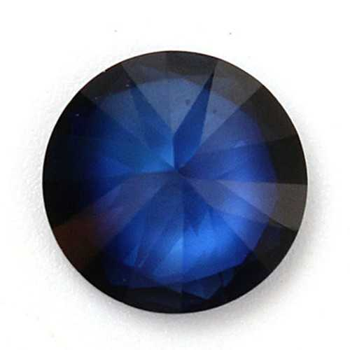 10mm Blue Sapphire Gem Round Unheated Gemstone DIY Loose Jewelry
