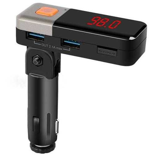 BC11 Wireless FM Transmitter Car Kit Bluetooth Handfree Charger for iPhone Samsung HTC Android