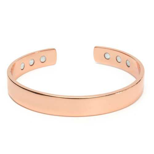 Copper 6 Magnets Magnetic Therapy Tools Bangle Arthritis Pain Relief Bracelet