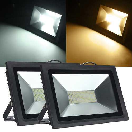 100W 2835 LED SMD Flood Light Spot Lightt Lamp Waterproof AC180-240V 8800-9500LM