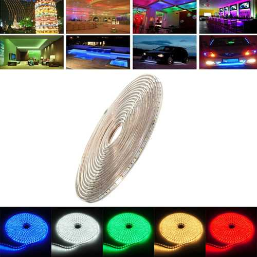 9M 31.5W Waterproof IP67 SMD 3528 630 LED Strip Rope Light Christmas Party Outdoor AC 220V