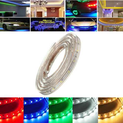 3M 10.5W Waterproof IP67 SMD 3528 180 LED Strip Rope Light Christmas Party Outdoor AC 220V