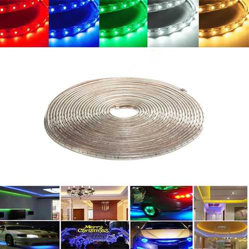 8M 28W Waterproof IP67 SMD 3528 480 LED Strip Rope Light Christmas Party Outdoor AC 220V