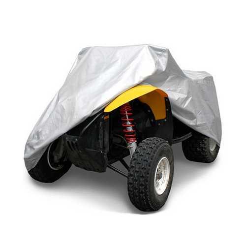 Quad Bike Tractor ATV Cover Anti-UV Rain Waterproof UV Heatproof XL