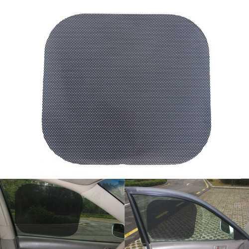 1 Pair 42x38cm UV Cut PVC Kersten Anti Static Car Window Shade Film Sun Protection Sticker