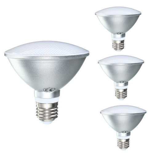 Dimmable PAR30 E27 12W 12Leds Plastic&Aluminum 675Lumens IP65 LED Spot Bulb AC110V