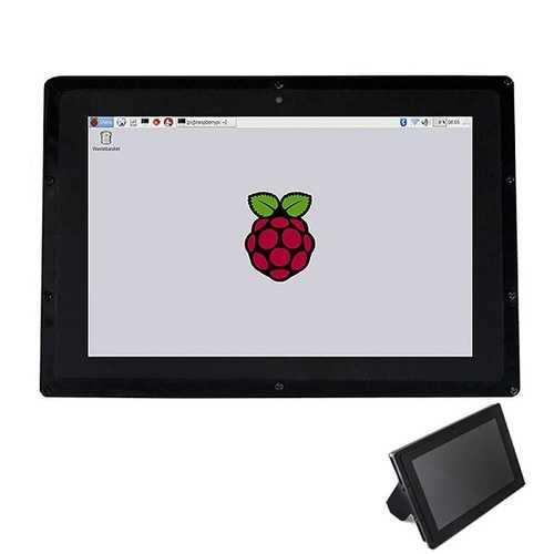 10.1 Inch Capacitive HDMI LCD IPS Touch Screen 1280x800 With Acrylic Stander For Raspberry Pi Banana Pi BB Black