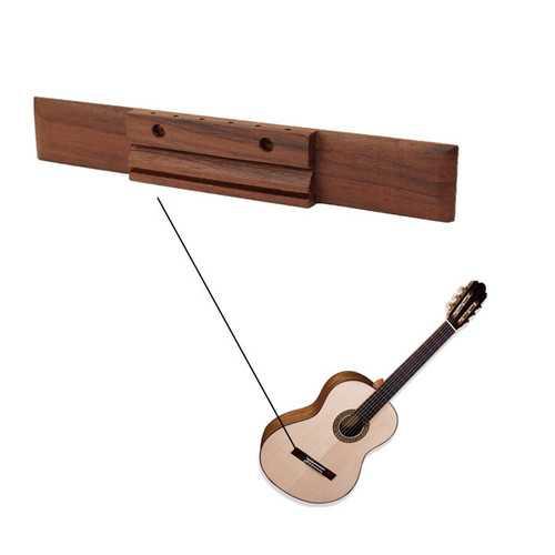 6 String Classical Acoustic Rosewood Guitar Bridge Replacement Parts