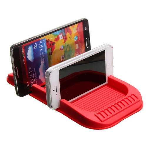 20.2x11cm PVC Car Dashboard Anti Slip Sticky Holder Non Slip Mat Pad Phone Holder