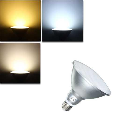 Dimmable E27 15W 900Lm LED Spotlightt Bulb PAR38 IP65 Lamp White Warm White Natural White AC220V