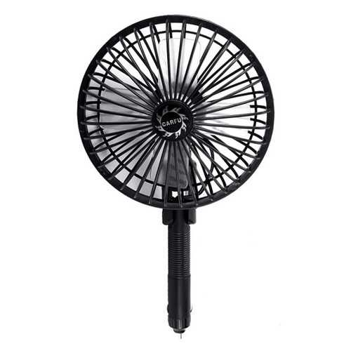 5 Inch 3.2W 4.5W 12V Car Interior Cooling Fan Cigarette Lighter Round Type Protable Universal