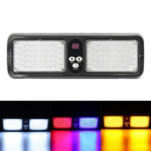 12V  Car Sun Visor Strobe Light LED Flashing Warning Emergency Light