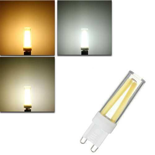 Dimmable G9 3W COB LED Crystal White Warm White Natural White Light Lamp Bulb AC220V