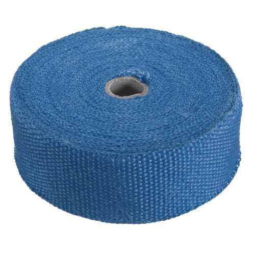 15M Blue Exhaust Header Turbo Manifold Down Pipe Insulating Wrap Heat Tape