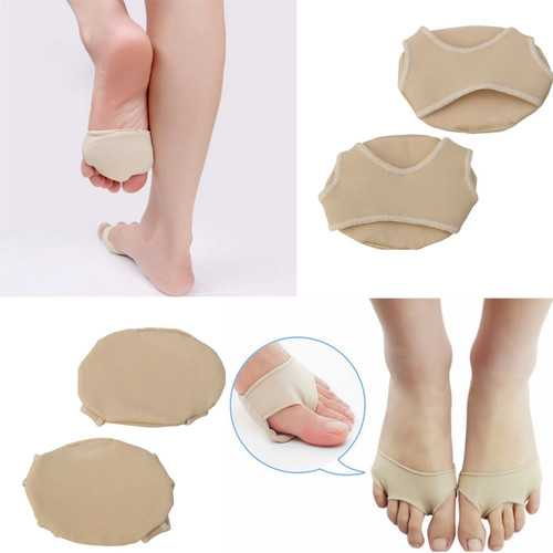 1Pair Spandex Foot Gel Pads Cushion Forefoot Metatarsal High Heel Shoes Accessories