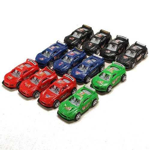 12xHZ Slide Racing Car Toys with Light Color Random