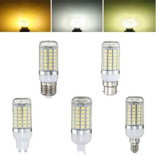 E27 E14 B22 G9 GU10 6W 69 SMD 5050 LED 450Lm Pure White Warm White Natural White Corn Bulb AC220V