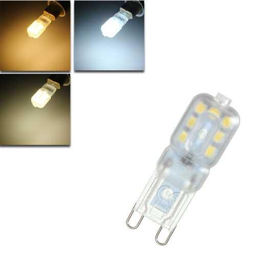 Dimmable G9 2.5W 14 SMD 2835 LED Pure White Warm White Natural White Light Lamp Bulb AC110V/AC220V
