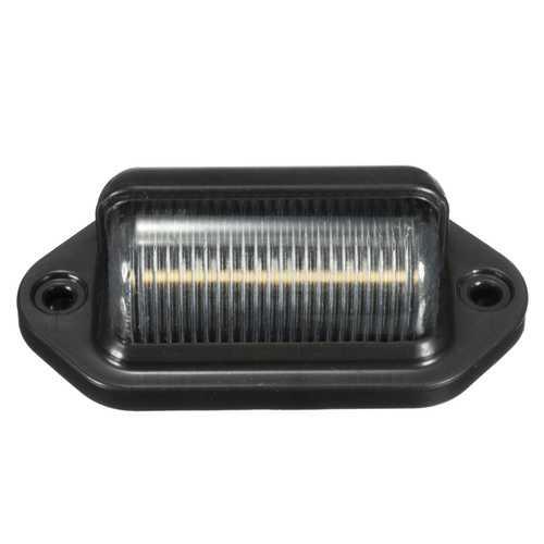 10-30V 6 LED ABS License Plate Light Number Lighting Lorry White Lamp for Trailer Truck