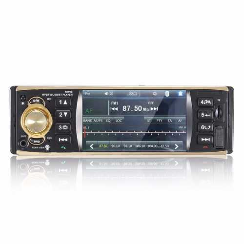 4.1 inch Bluetooth Car Stereo Audio MP3 MP5 Player AM FM Aux USB TF In Dash