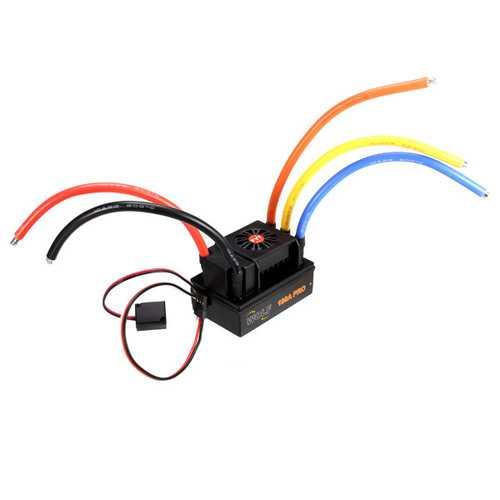 FVT 180A Sensored Brushless Waterproof ESC For 1/5 1/8 RC Car Skateboard ESC