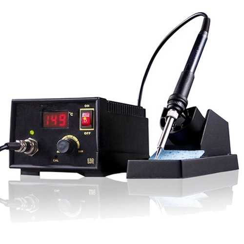 110V-220V 967 Electric Rework Soldering Station Iron LCD Display Desoldering SMD Tool