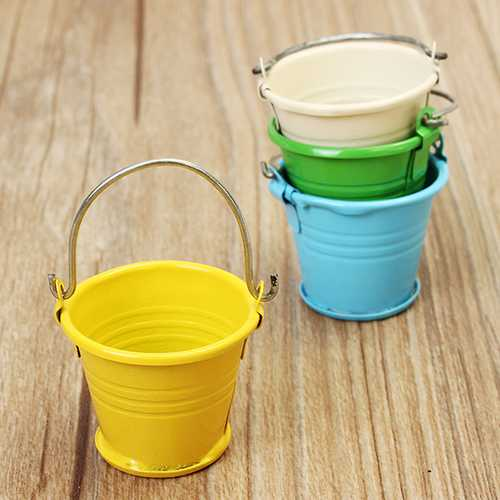 1:12 Children Mini Bucket Model House Property Doll Creative DIY A Specical Gift for Children