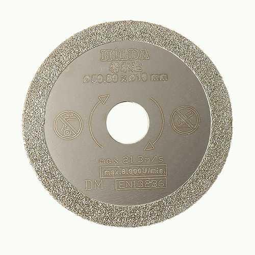 HILDA 10mm Diamond Saw Blade 50.8x1.3mm Cutting Disc for Marble Ceramic