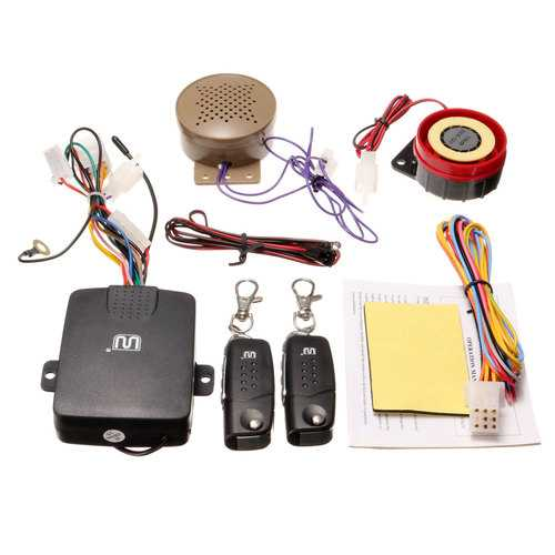 Motorcycle Motor Bike Security Alarm System With Remote Control