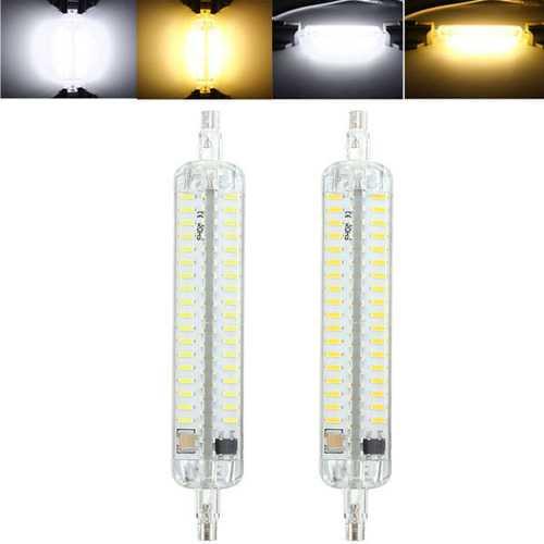 R7S 118MM 10W 152 SMD 4014 LED Pure White Warm White Light Lamp Bulb AC110V