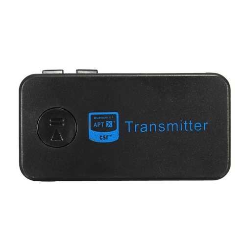 TS-BT35F18 bluetooth Hands Free Call AUX in Audio Transimittervs Adapter A2DP 3.5mm