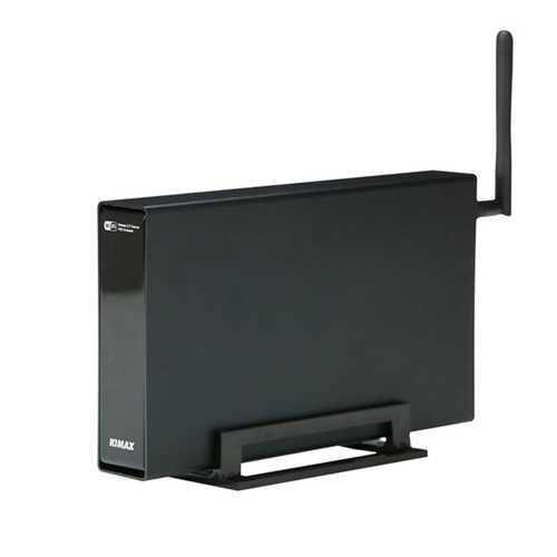 Blueendless BS-U35WF Wireless Storage Router With NAS Function Hard Drive Enclosure Box Black