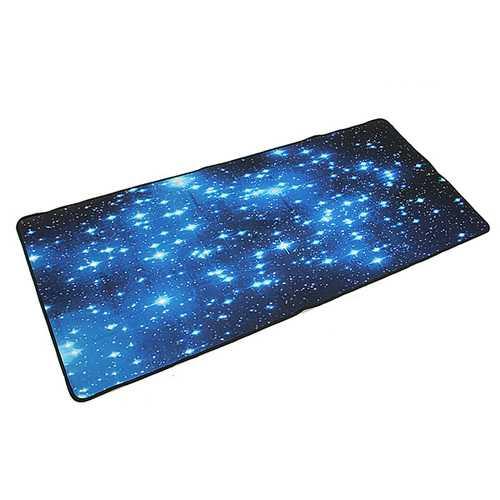 Blue Stars Anti-Slip Neoprene Large Computer Gaming Mouse Keyboard Desk Pad