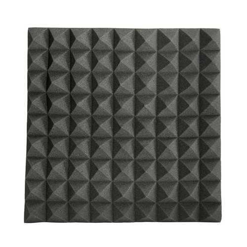 45×45×5cm Black Triangle Insulation Reduce Noise Sponge Foam Cotton